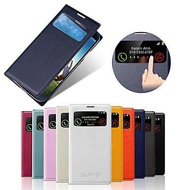 viralliset klassinen ikkuna näkymä koko kehon suojakotelo Samsung S4 i9500 (valikoituja väriä) – EUR € 5.51