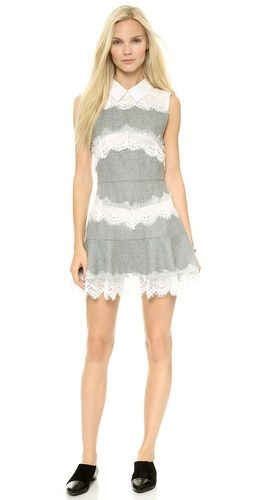 endless rose Lace Embroidered Dress | SHOPBOP