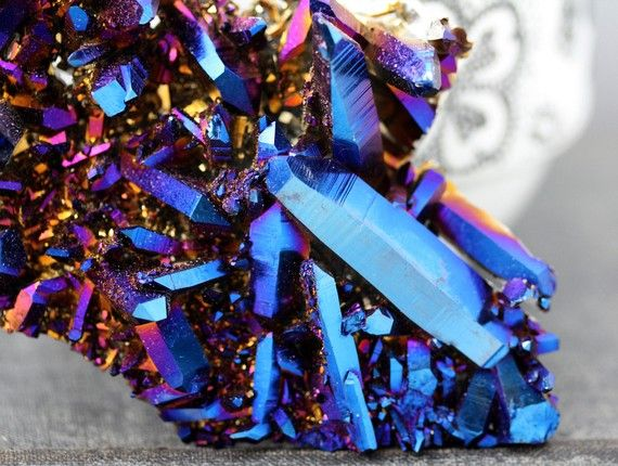 cobalt aqua aura crystal via specimental