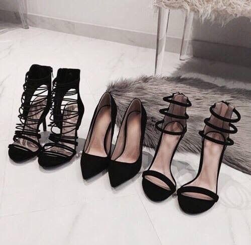 #black #shoes #highheels