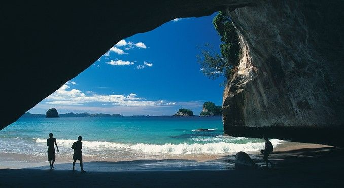 Hahei, Cathedral Cove!