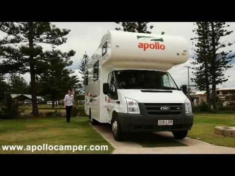 Campervan Hire Australia - Euro Tourer part1 Show Through from Apollo Motorhomes - YouTube