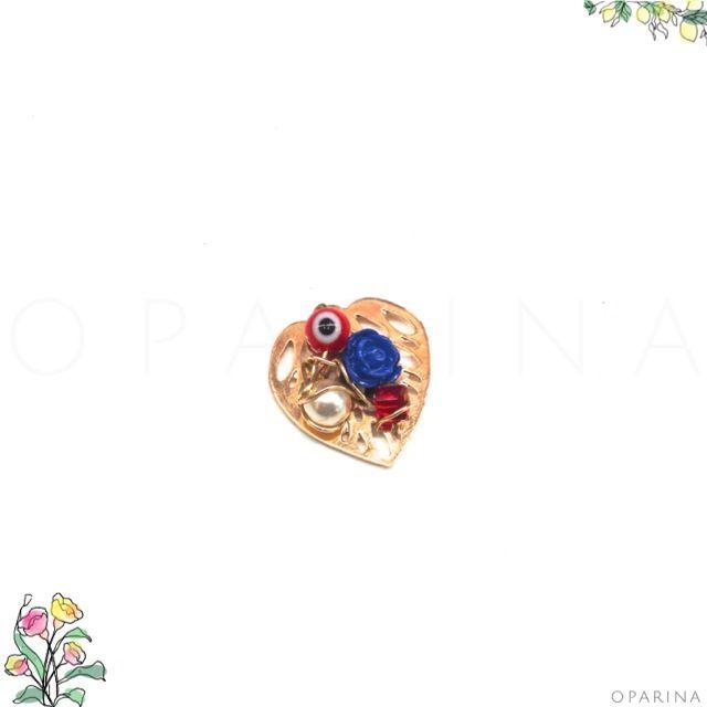 Dije Dorado decorado con Alambrismo. #oparina #DIY #JewelryDesign #goldfilled  #madewithstudio