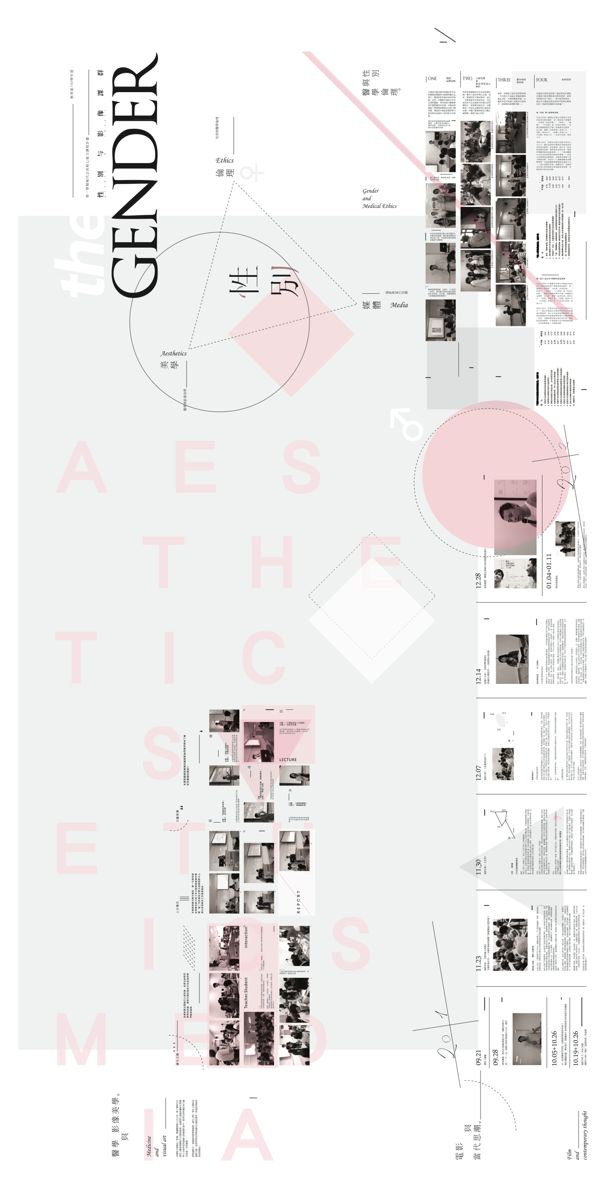 group of gender & images by Sion Hsu, via Behance
