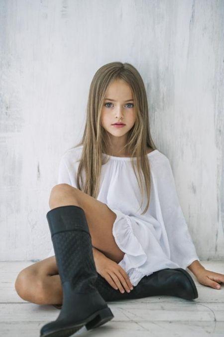 【画像あり】「世界一の美少女」クリスティーナ・ビメノヴァ…ロシアの9歳の少女、世界的な知名度を誇るスーパーモデルに : 暇人\(^o^)/速報 - ライブドアブログ