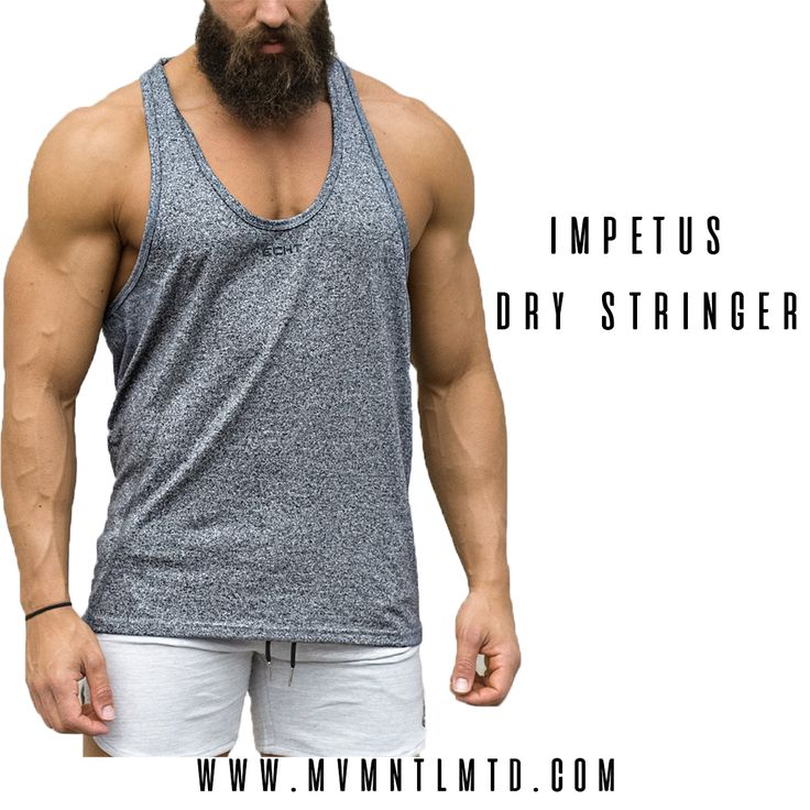 The Echt Impetus Dry Stringer is part of the Impetus Series. This is the next generation, now.  – Made with our unique Impetus Dry fabric – Ultra lightweight fabric blend – Moisture wicking technology – Tapered stitching details Echt ———————————- ✅Follow Facebook : mvmnt.lmtd 🌏Worldwide shipping 📩 mvmnt.lmtd@gmail.com  Fitness Gym Motivation Healthy Workout Bodybuilding Fitspo Yoga Abs Weightloss Muscle Exercise Fitnessmodel Squats