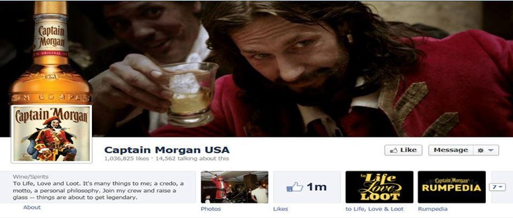 So here is a great example of a cover and profile image being incorporated as one image. #Facebook Cover