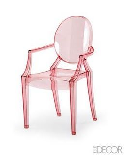 Pink Ghost Chair - I must have this!!!