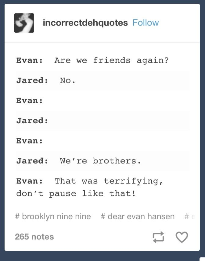 evan is me we are all evan