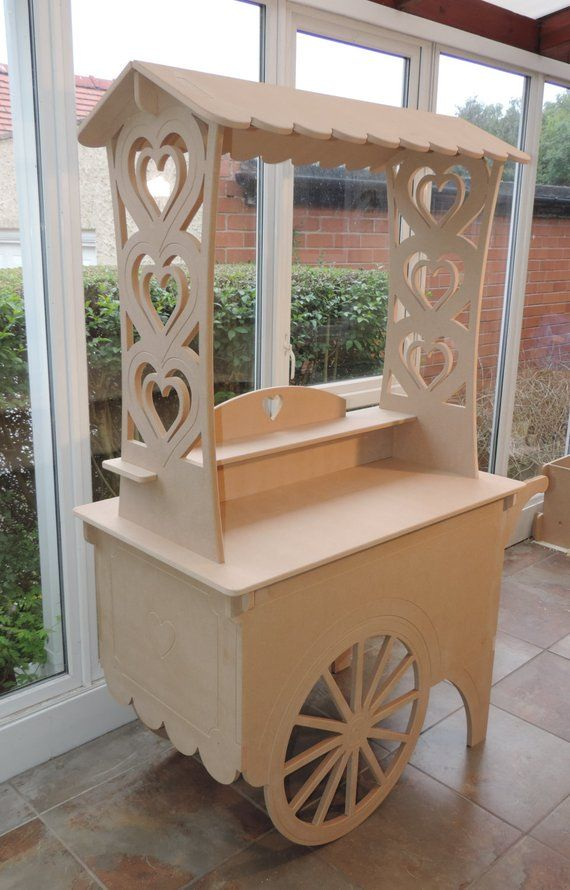 Top Quality Traditional Style Candy Cart For Weddings Or Parties