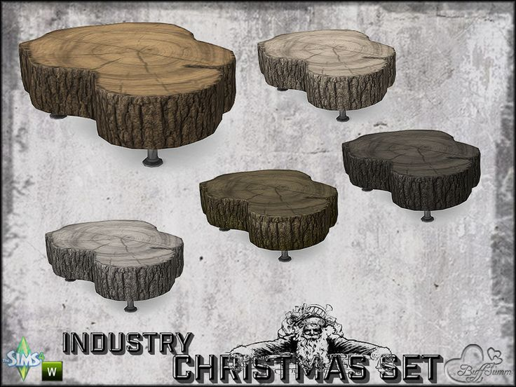 Part of the *Industry Series*  Found in TSR Category 'Sims 4 End Tables'