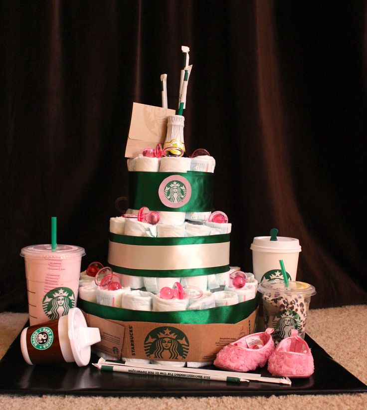21 best baby shower theme starbucks images on pinterest baby my creation for an upcoming baby shower as you can tell the soon to be mom likes starbucks creating a diaper cake is soooo much fun publicscrutiny Image collections