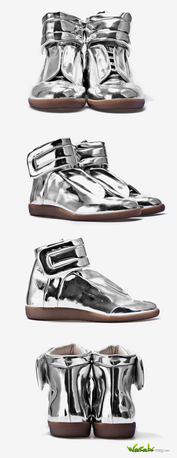 Major Tom B-ball-tastic: Maison Martin Margiela Sci-fi Metallic