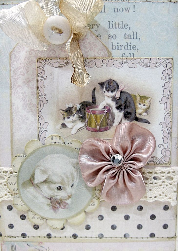 kitty paper tagMelissa France, Jennifer Mitchelle Judy, Czarnecki Stacey Jarvis, Paper Tags, Shabby Chic Victorian, Paper Crafts, Kitty Friends, Cards, Kitty Paper