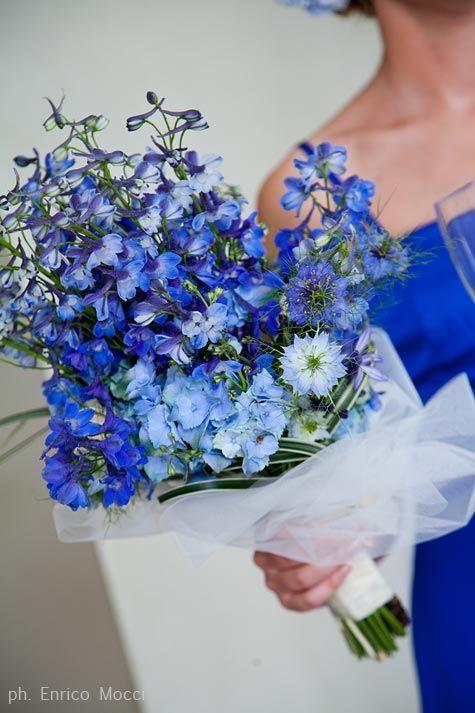 all blue bridal sheaf                                                                                                                                                                                 More