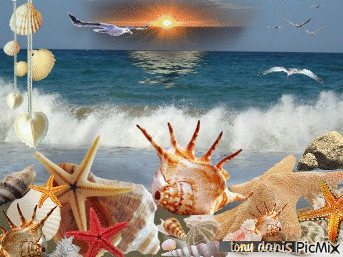 SUMMER LOVE original backgrounds, painting,digital art by tonydanis