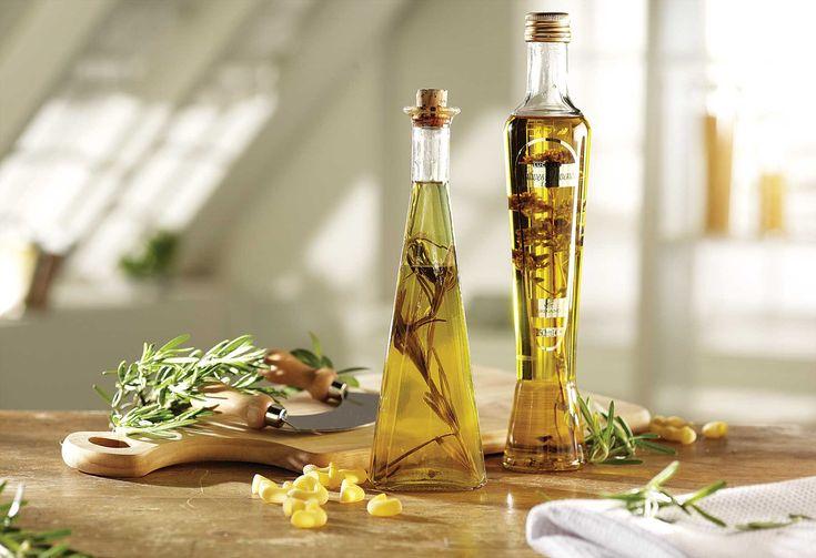 Bylinkový ocet se používá k ochucení salátů, do omáček, majonéz, dresinků apod.