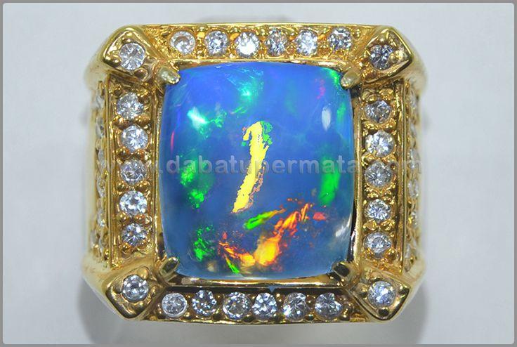 Sparkling Hot Blue OPAL KALIMAYA. Crystal Mulus - OP 041