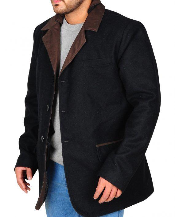 Hap Briggs Elegant Black Coat