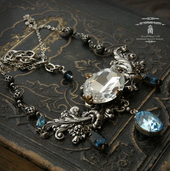 Jadis the White Witch of Narnia Silver Necklace by MyVintageVanity, $85.00
