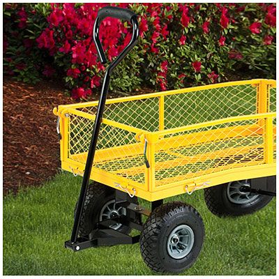 Steel Garden Cart At Big Lots. Great Idea If You Need More Than Just A