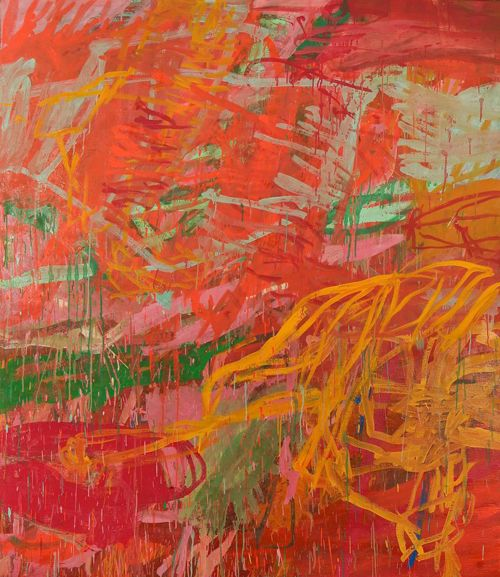 """Joan Mitchell was a """"second generation"""" abstract expressionist painter and printmaker. She was an essential member of the American Abstract expressionist movement, even though much of her career took place in France."""