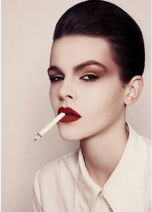 slick. Ruby Jean Wilson: Marc Jacobs's New Face
