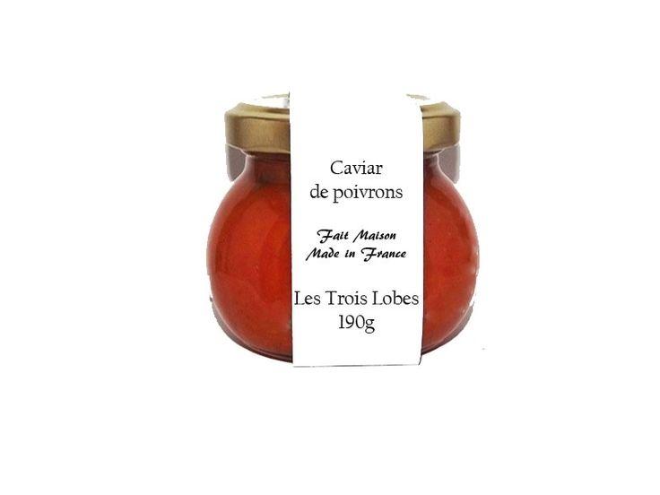 Caviar, comme son nom l'indique il vous fera patienter avant de passer à table!  Sur une tranche de pain grillé, les petites billes de poivrons vont explosées en bouche à la première bouchée et vous donner des sensations gustatives qui vous feront tomber à la renverse!