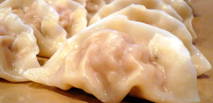 Here is a version of dumplings that you can make without meat. Of course you can add whatever you like. Sometimes I have frozen spinach so do spinach and mushroom. Sometimes I do tofu and pumpkin. Use your imagination - this is just inspiration :-)