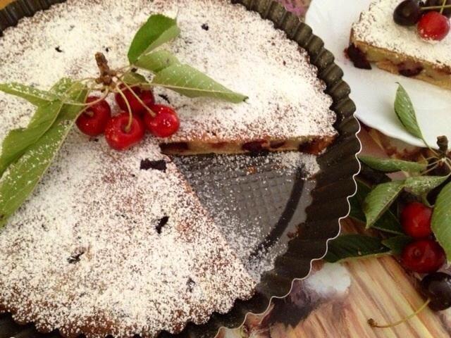#sfidaprelibata #michelanobile #clafoutis di ciliegie gluten free
