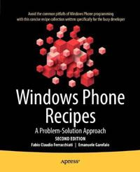 Windows Phone Recipes 2nd Edition Pdf Download e-Book