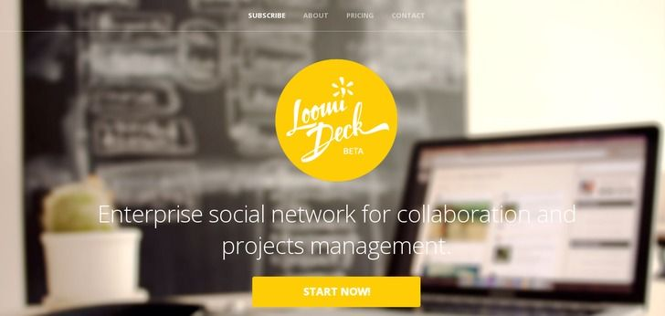 Loomideck web design : http://www.webdesign-inspiration.com/web-design/loomideck-com-14396