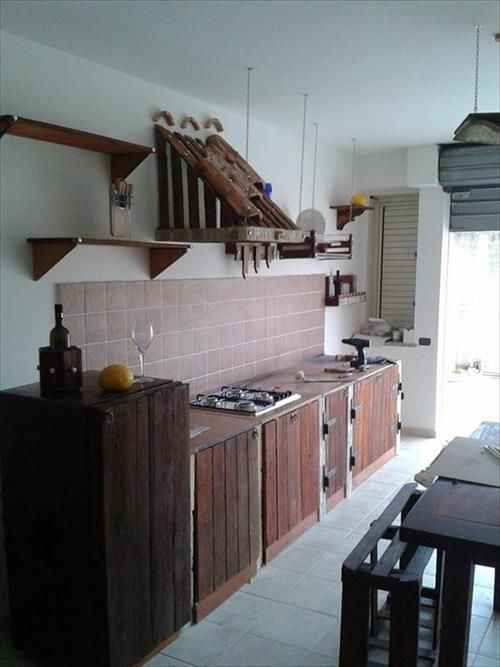 Kitchen Cabinets From Pallets 89 best pallet kitchen images on pinterest | pallets, diy pallet