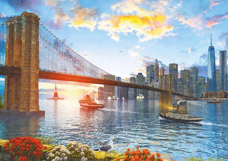 EDUCA Puzzle Brooklynský most 4000 dílků