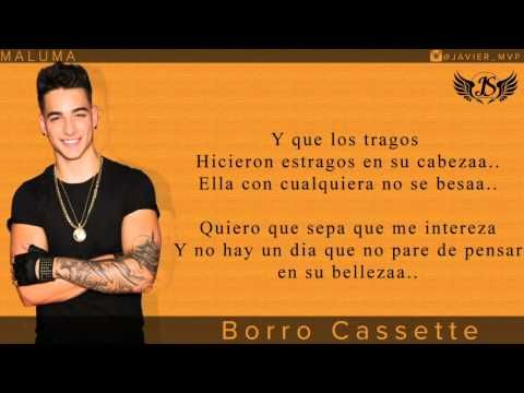 Maluma - El Perdedor (Video con letra/lyrics) Official Reggaeton - YouTube