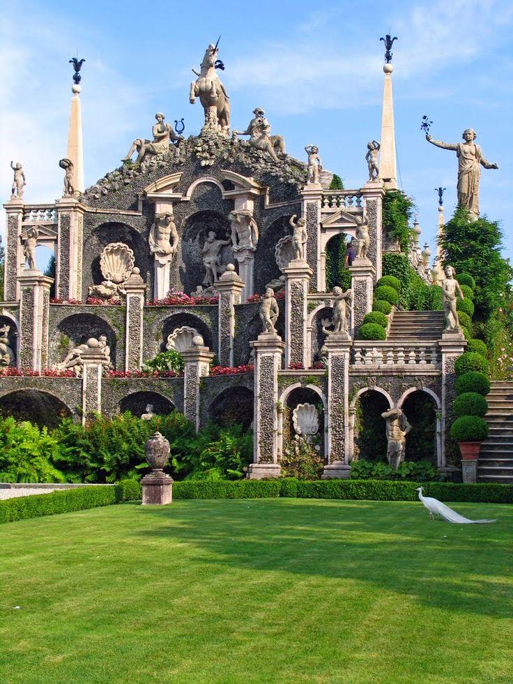 Giardini di palazzo borromeo isola bella lake maggiore for Be italia
