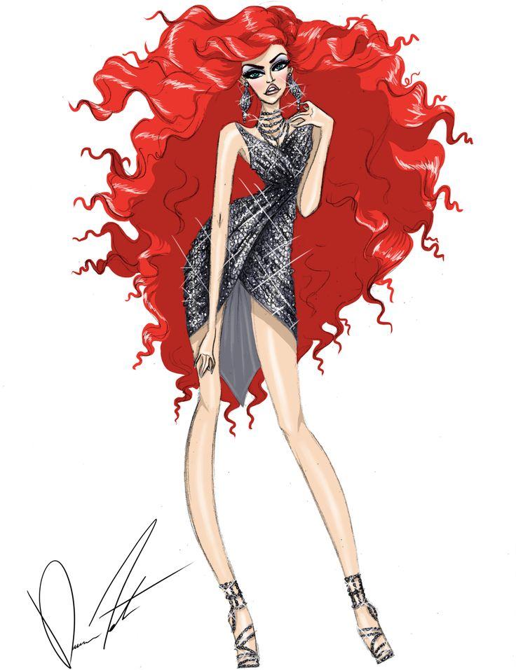 Disney fashion frenzy ariel living on land by daren j mermaid pinterest disney dessiner - Dessiner princesse disney ...