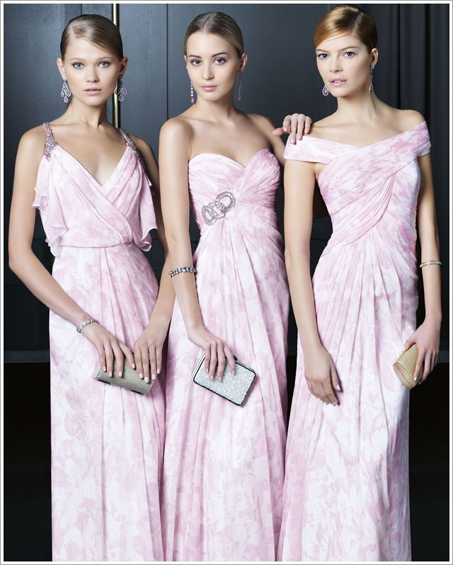Vestido madrinha de casamento rosa claro rose00