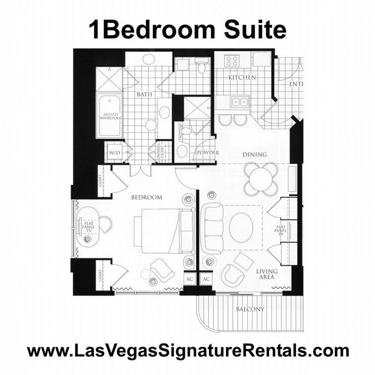 1 bedroom suites in las vegas