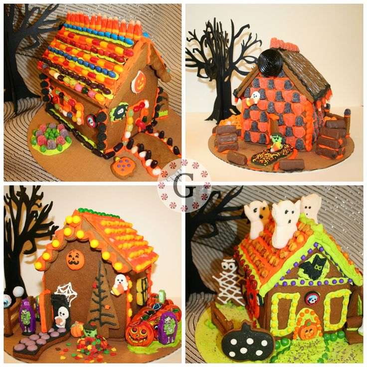113 Best Halloween Gingerbread House Images On Pinterest