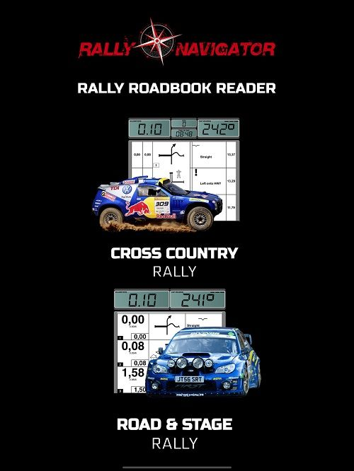 View and Navigate Roadbooks from Rally Navigator  Rally