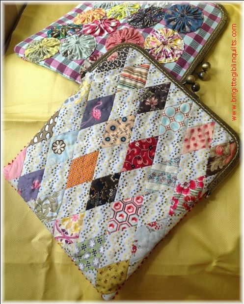 Avery different iPad purse and I like it. Purchase quilt patterns online with immediate download