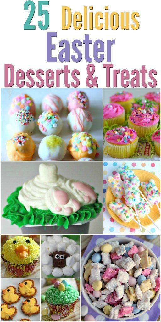 25 Delicious Easter Recipes, Desserts & Treats http://www.southernfamilyfun.com/25-delicious-easter-desserts-treats/ via @winonarogers