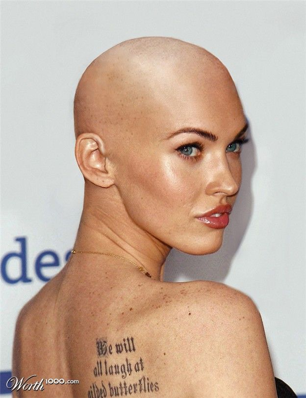 20 Gorgeous Women Who Shaved Their Heads - Refined Guy