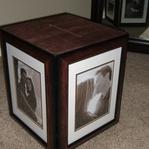 How to make a photo card box for your wedding - Project Wedding