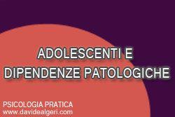 """Adolescenti e dipendenze patologiche  Nella società del """"tutto e subito"""" è di sicuro più facile che i ragazzi adolescenti sviluppino un maggior numero di dipendenze.   In questo interessantissimo articolo, a cura della dott.ssa Tavani, alcuni suggerimenti per i genitori utili a prevenire queste forme di disagio.  http://www.davidealgeri.com/adolescenti-e-dipendenze-patologiche.html  #dipendenze #adolescenza #psicologiapratica"""