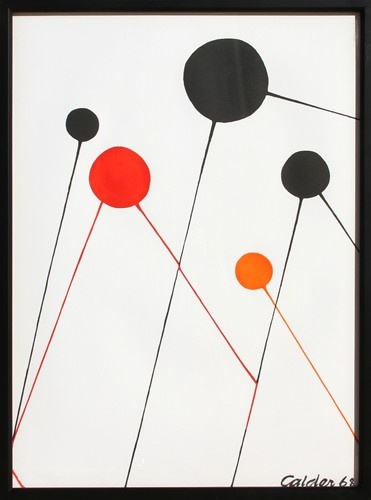 Alexander Calder   Balloons   Lithograph - $550