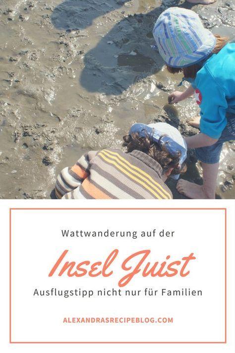 Reisetipp für Familien: Eine Wattwanderung auf der Nordsee-Insel Juist ist ein tolles Erlebnnis. Übrigens nicht nur für die Reise mit Kindern!