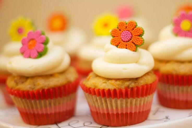 Colección de recetas de cupcakes