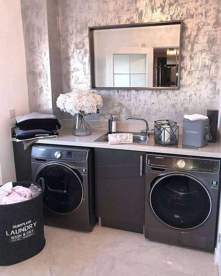 "Home Design🏡Interior Design On Instagram: ""Laundry Heaven"